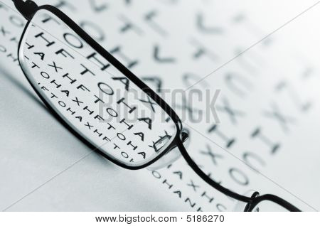 Auge Augen test