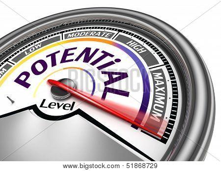 Potential Level Conceptual Meter