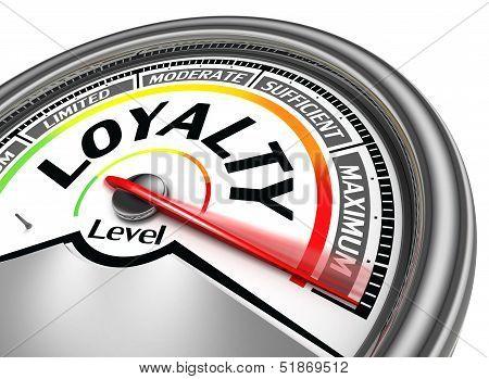 Loyalty Level Conceptual Meter