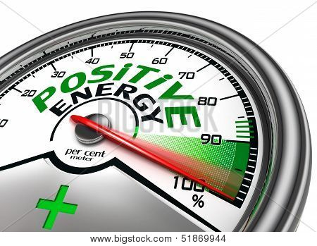 Positive Energy Conceptual Meter