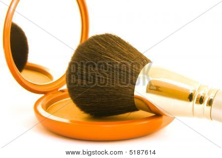 Powder With Brush