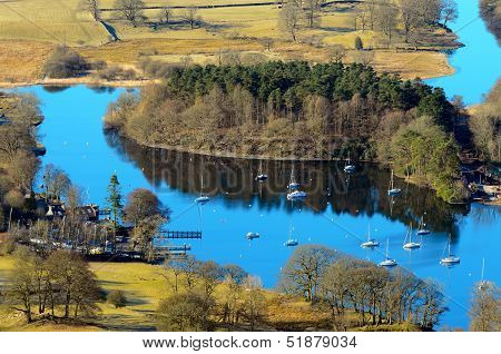 Lake Windermere From Gummers How