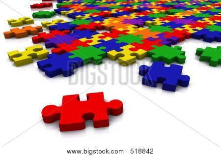 Colour Puzzle - Everything In Focus