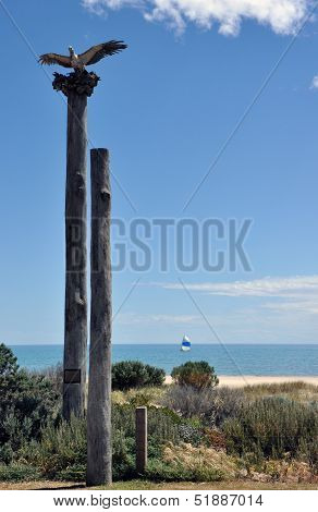 Henley Beach Tribute To The Sea Eagle