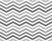 stock photo of zigzag  - Gray Zigzag Pattern Background that is seamless and repeats - JPG