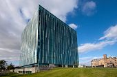 Aberdeen University Sir Duncan Rice Library, Aberdeenshire, Scotland