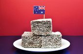 Australia Day January 26, Celebrate With Tradional Aussie Tucker Food Such As Lamingtons, Meat Pies
