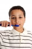Boy Brushing Teeth