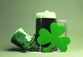 picture of stein  - Celebrate all the fun and luck of the Irish of St Patrick - JPG