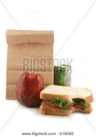 Almoço ensacado