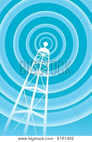 broadcasting tower signal