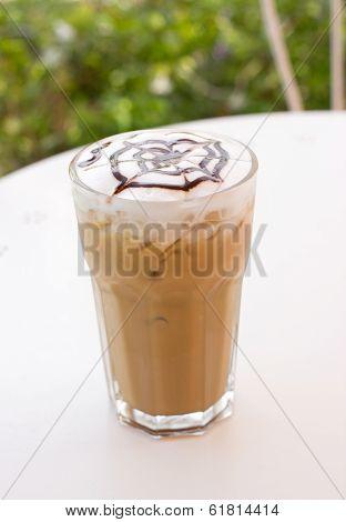 Ice Mocca Coffee.
