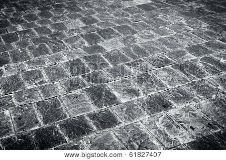 Granite Flagstone Pavement Road