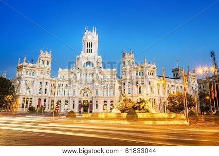 Plaza De La Cibeles Madrid