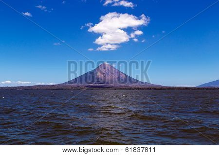 Ometepe Volcano View