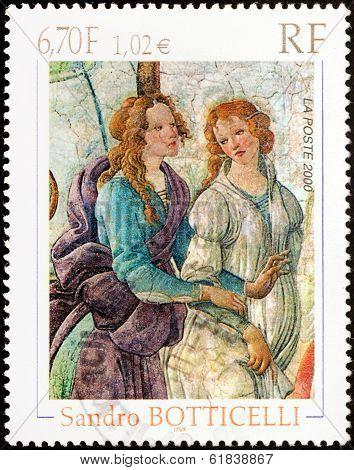 Botticelli Stamp