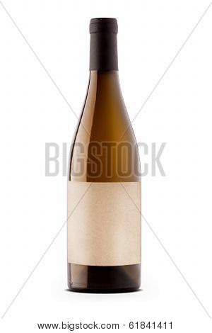 Wine Bottle With Etiquette