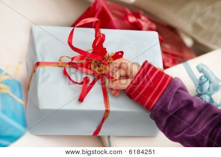 Christmas Time -  Opening Of Presents