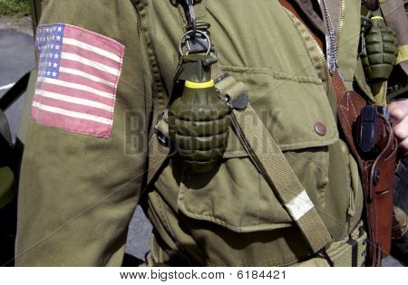 American World War Two Gi Soldier