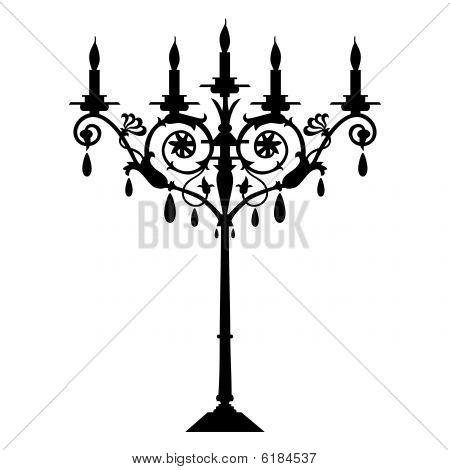 Vector candlestick