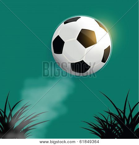 Flying Soccer Ball