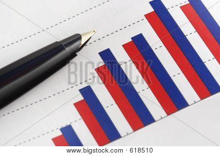Stift auf Positive verdienen Grafik