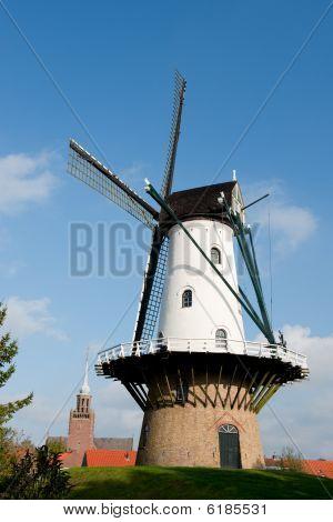 Windmill Ijzendijke