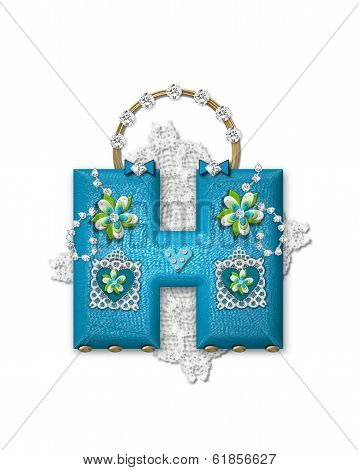 Alphabet Bling Bag H