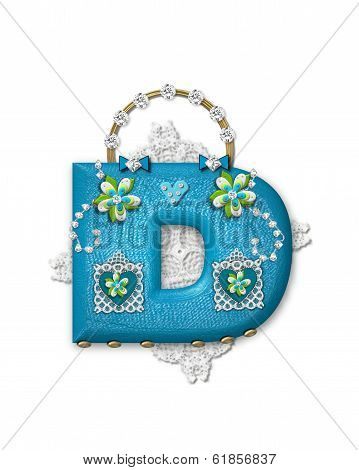 Alphabet Bling Bag D