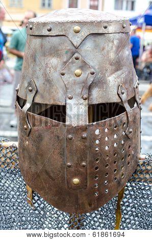 Armor at Medieval festival, Brasov