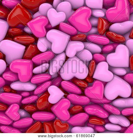 3D - Hearts 02