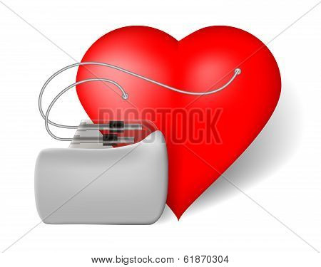 Pacemaker And Red Heart