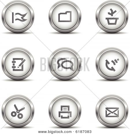 Office Icons Grey