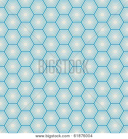 seamless hexagon background