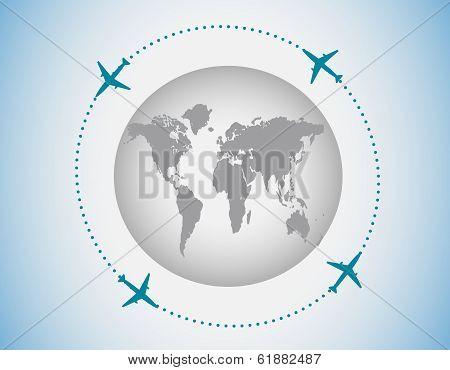 Airplines Around The globe