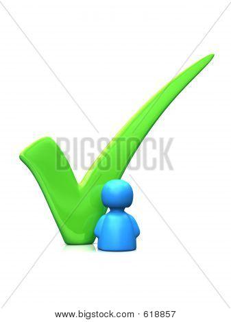 Big Green Tick