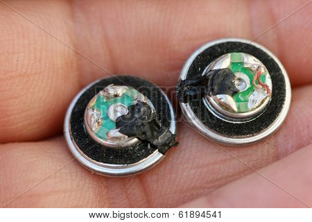 damaged earphones