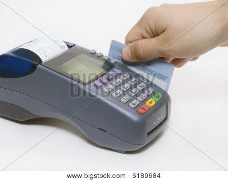 Terminal de tarjeta de crédito