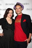 LOS ANGELES - MAR 20:  Jennifer Tilly, Cameron Silver at the Decades: Les Must De Moschino Event at