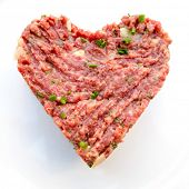 image of tartar  - tasty Steak tartare  - JPG