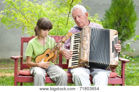 Guitar And Accordion