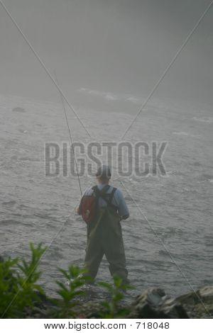 Fog Fisherman