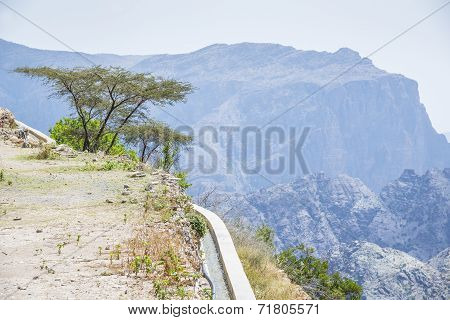 Water Delivery Jebel Akhdar Oman