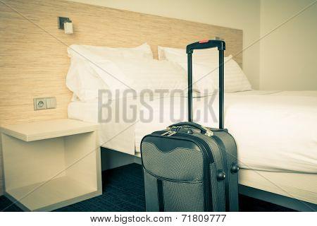 Scene In Hotel Room