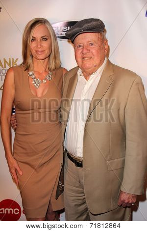 LOS ANGELES - SEP 6:  Eileen Davidson, Dick Van Patten at the