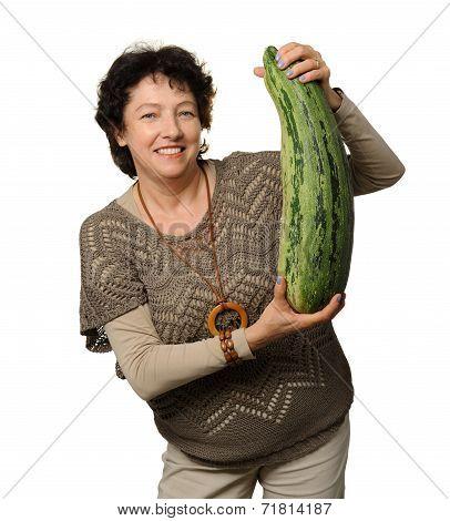 Big courgette