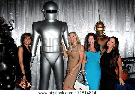LOS ANGELES - SEP 6:  Lisa Rinna, Eileen Davidson, Lisa Vanderpump, Kyle Richards at the Night of Science Fiction, Fantasy & Horror After Party at IATSE Stage 80 on September 6, 2014 in Burbank, CA