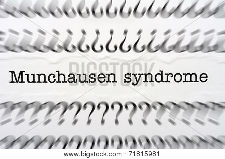 Munchausen Syndrome