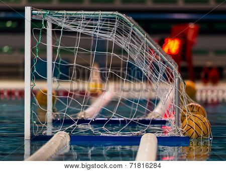 Water Polo Goal Or Net