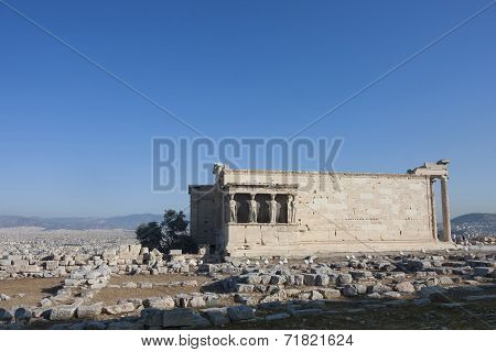 Erechtheion Of Erechtheum In Greece